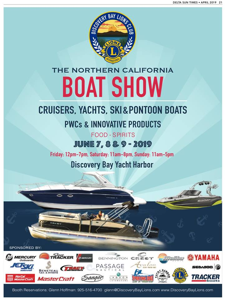 2019 Northern California Boat Show