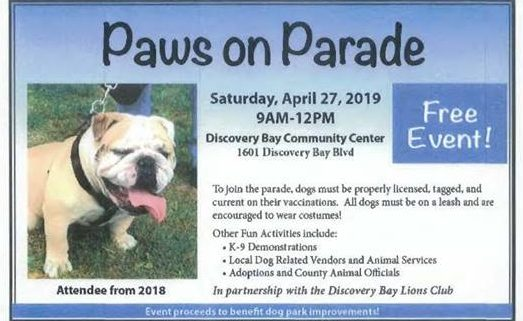 Paws on Parade 2019