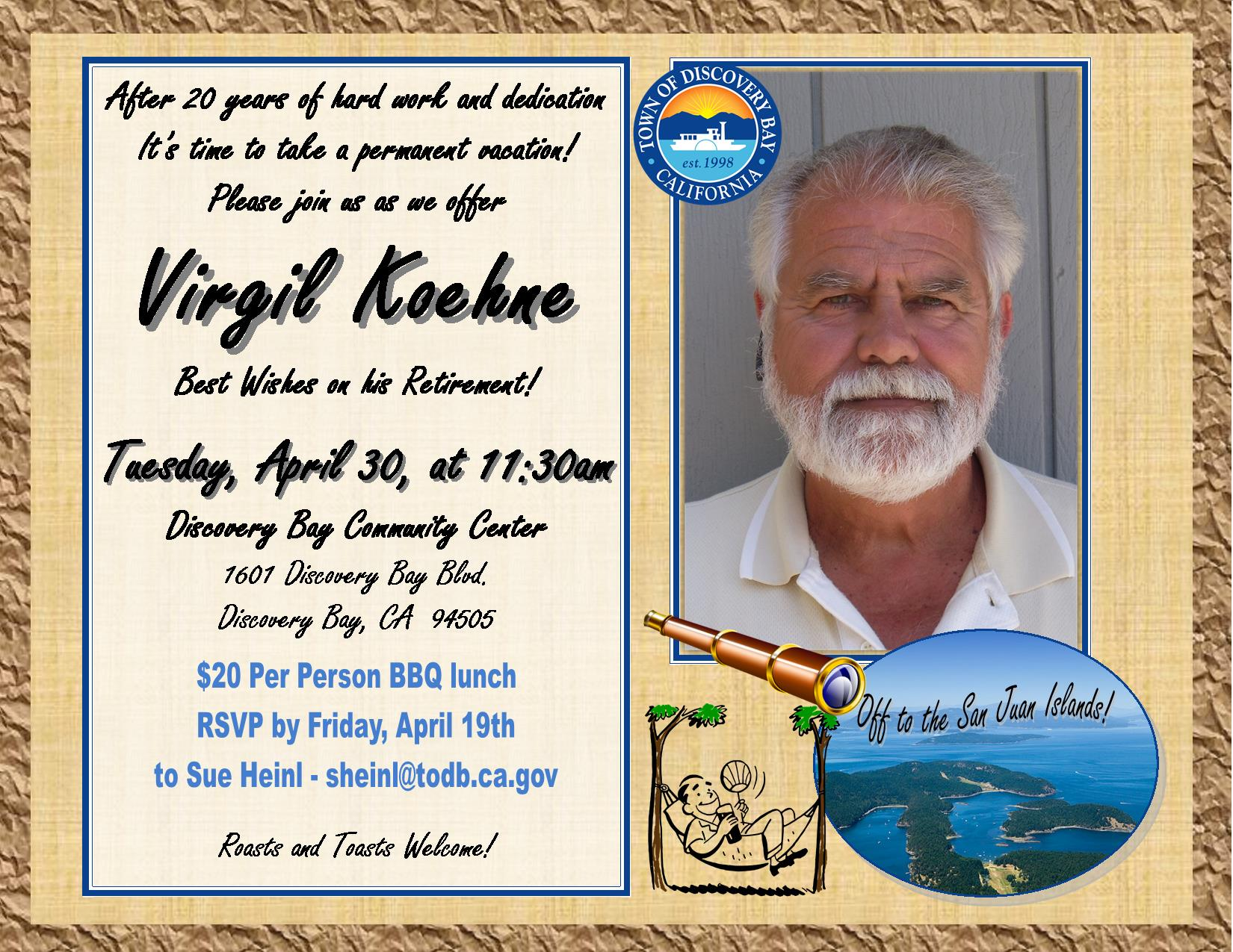 Virgil Koehne's Retirement